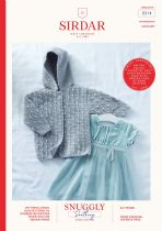 Sirdar Snuggly Soothing DK Crochet Pattern Booklet - 5314 Hooded Jacket